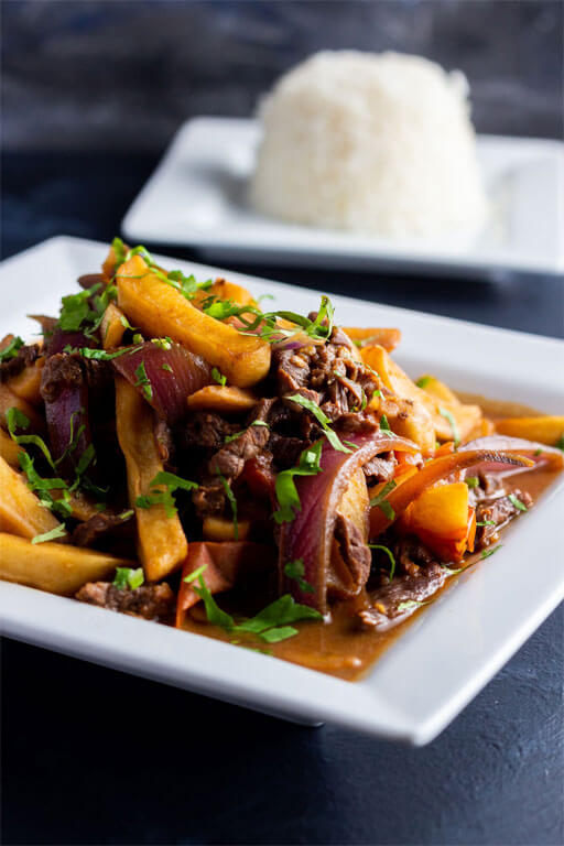 Steak and Cassava - Carne a la Plancha y Yuca